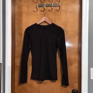 Black thermal long sleeve.